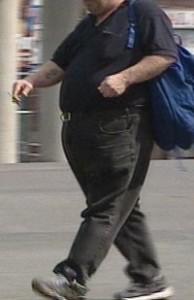 Obese man. (CBC)